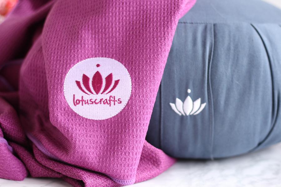 Yoga et méditation : On s'équipe à petits prix avec Lotuscrafts !