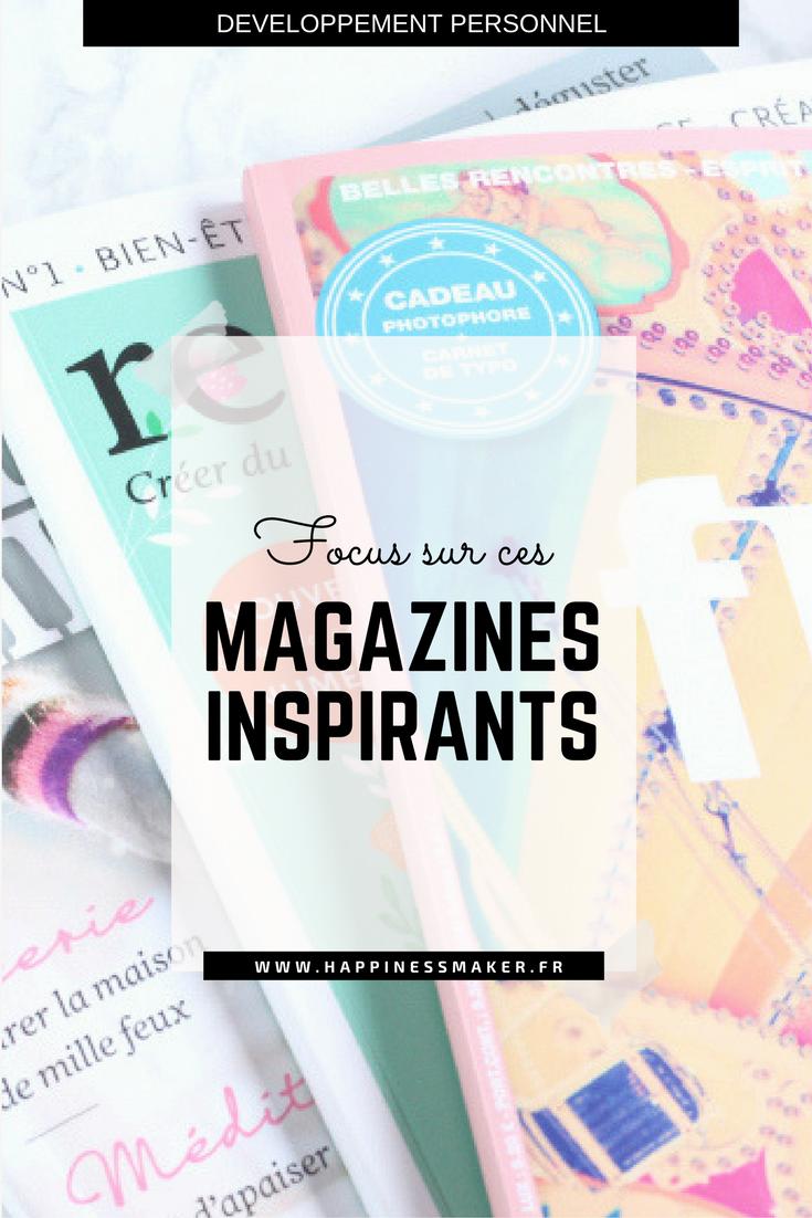 magazines feel good et inspirants
