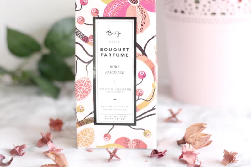Bouquet parfumé lotus gingembre Baïja