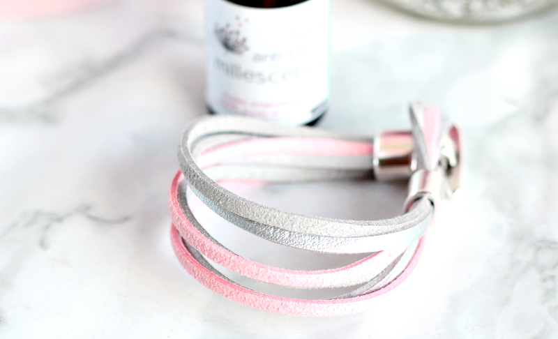 Bracelet anti-stress bio huiles essentielles