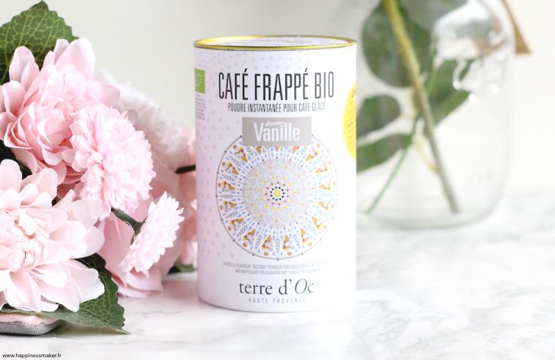 Café frappé Terre d'Oc Nature découvertes