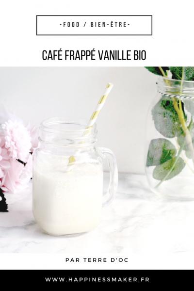 café frappé bio vanille terre doc