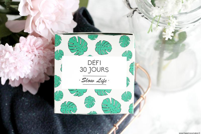 Défi Slow Life : 30 jours pour ralentir avec DOIY