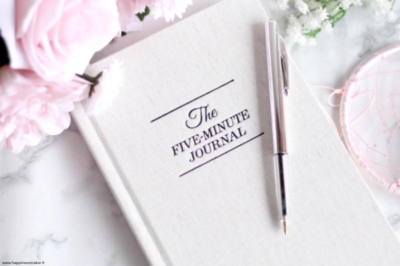 The Five Minute Journal : Cultiver la gratitude au quotidien
