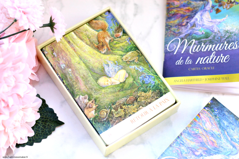 Cartes oracle murmures de la nature : Mon avis