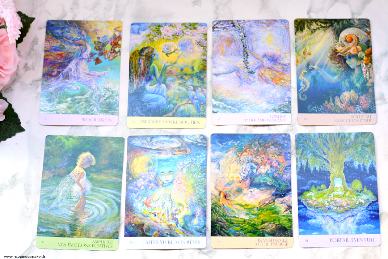 cartes oracle murmures de la nature