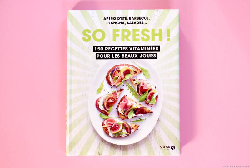So Fresh ! Livre recettes cuisine été Solar