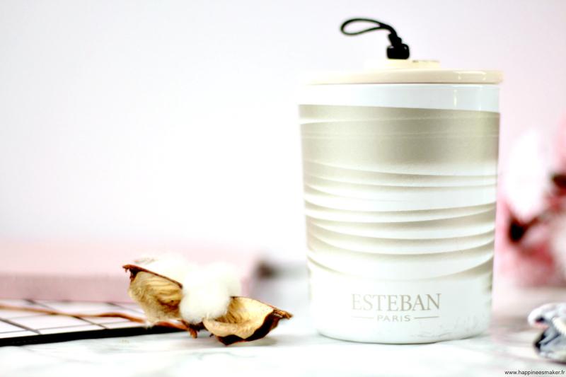 Bougie rêve blanc Esteban