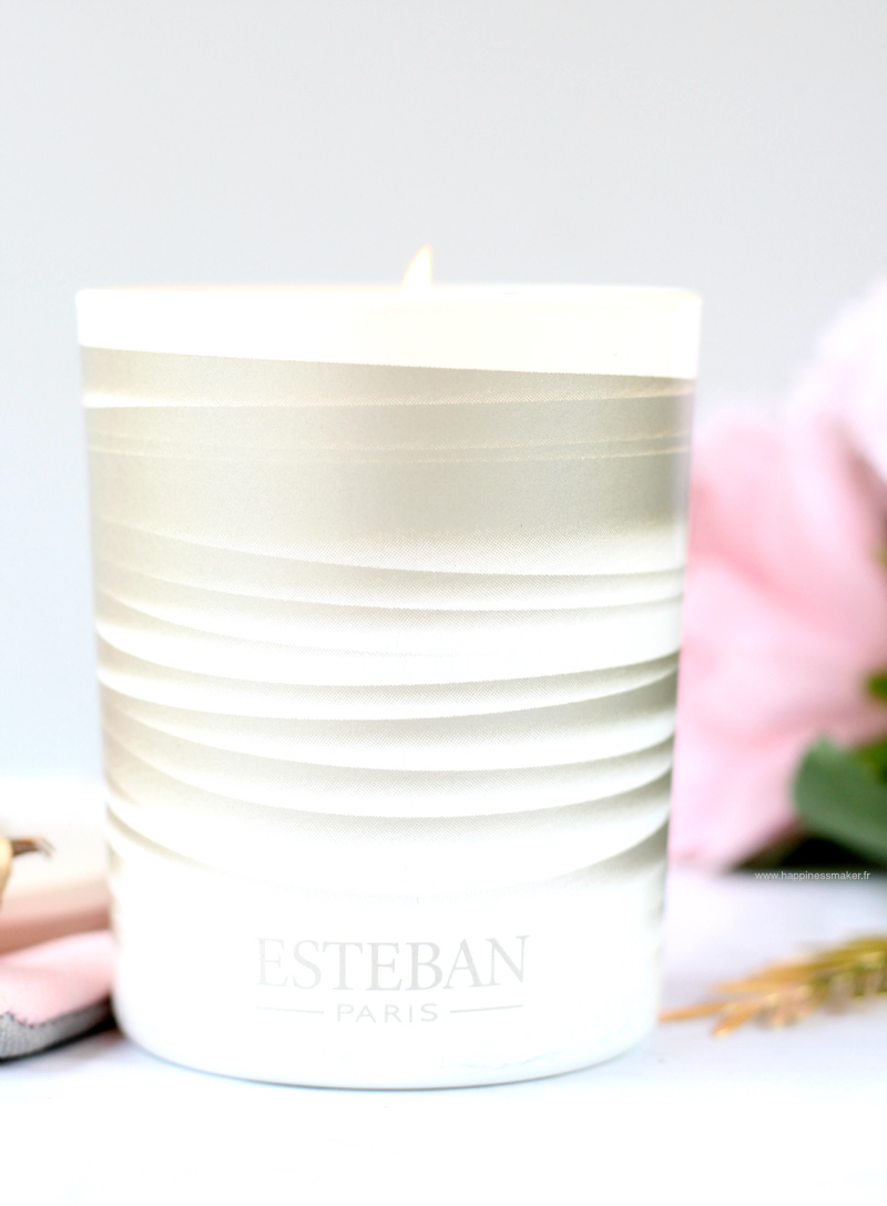 Bougie parfumée musc rêve blanc Esteban