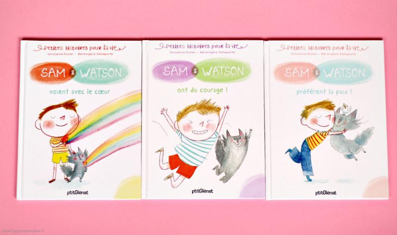 Collection Sam et Watson livres thérapeutiques enfants