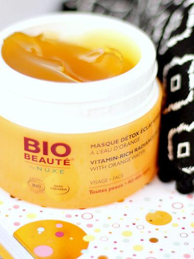 Masque détox vitaminé bio beauté Nuxe