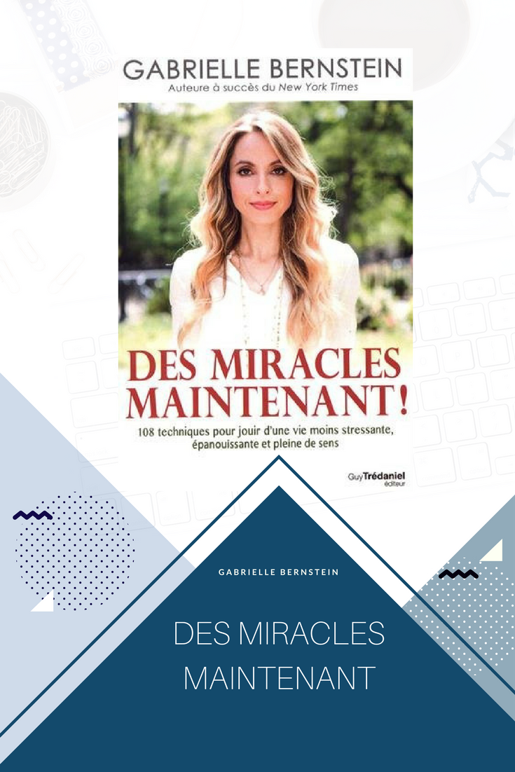 Des miracles maintenant / miracles now