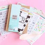 Accessoires pour décorer son Bullet Journal Toga