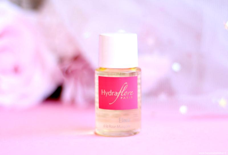 Elixir rose musquée visage bio Hydraflore