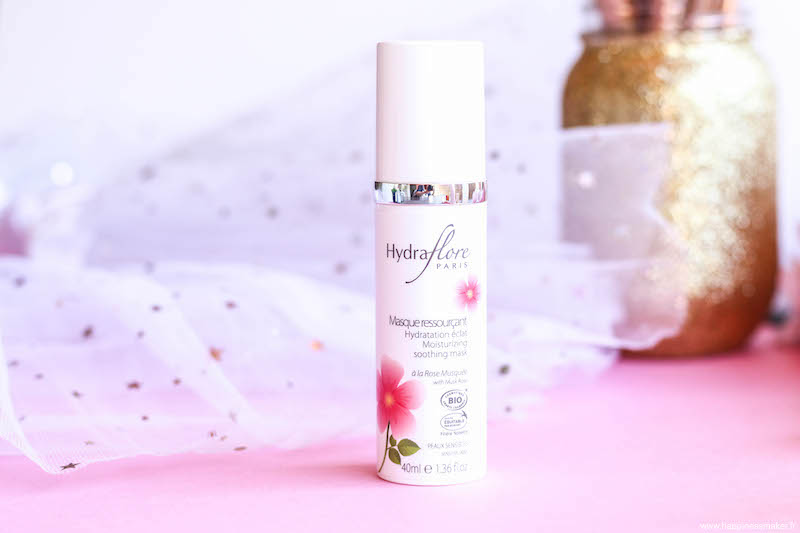 masque hydratant rose musquée bio
