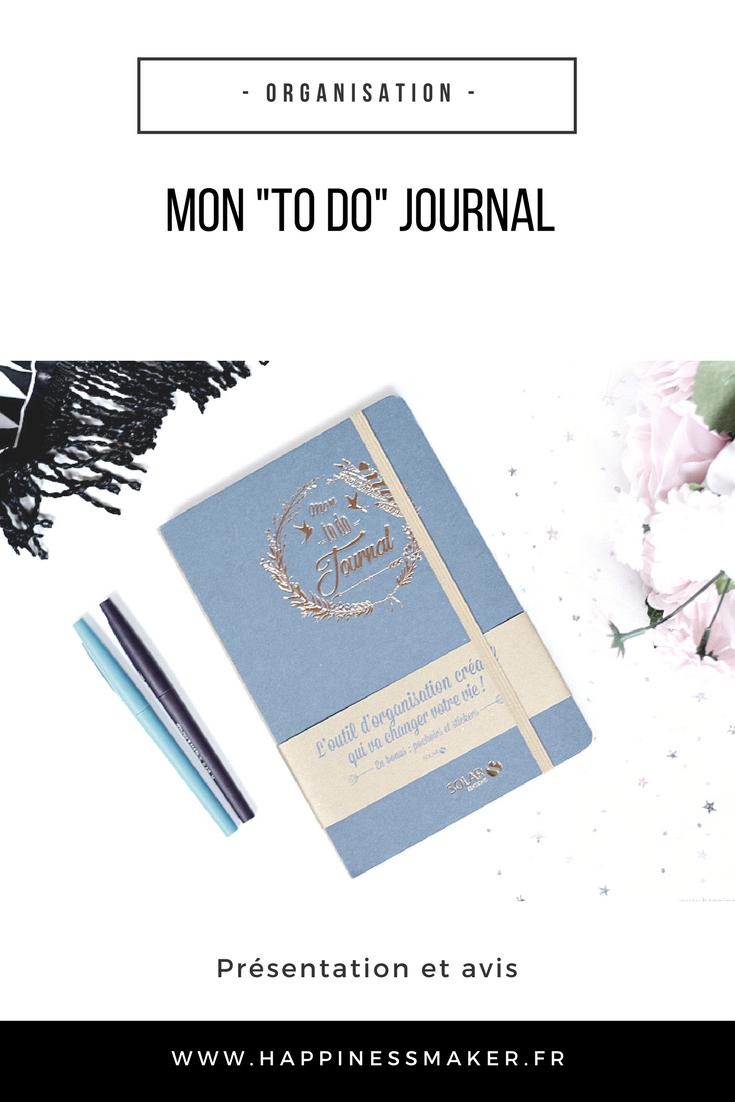 Mon To Do Journal : Vrai bujo ou simple planner ?