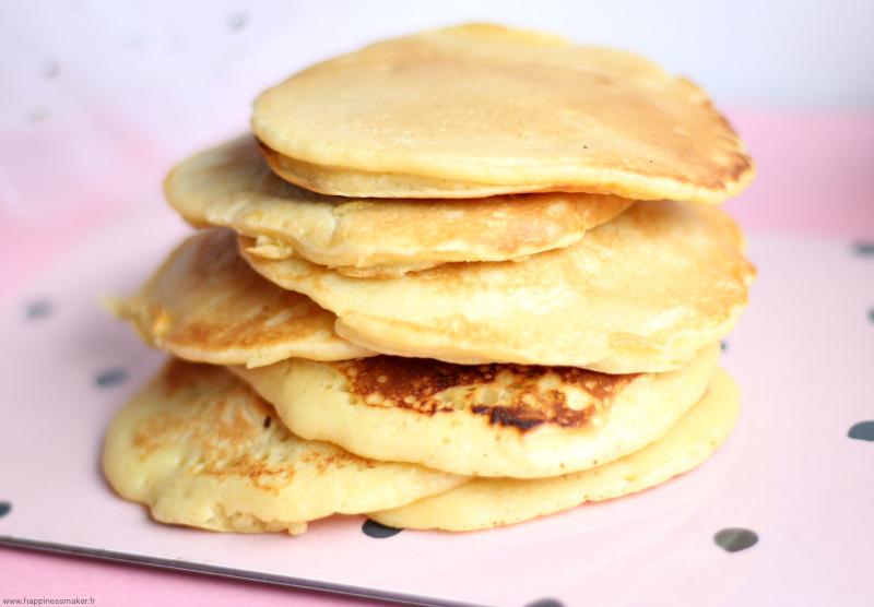 pancakes lait d'amande peu sucres