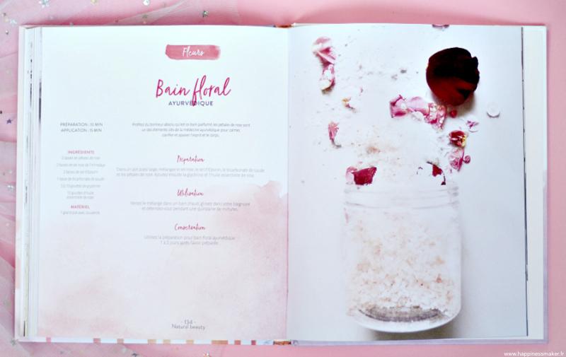 recette bain floral healthy & beautiful