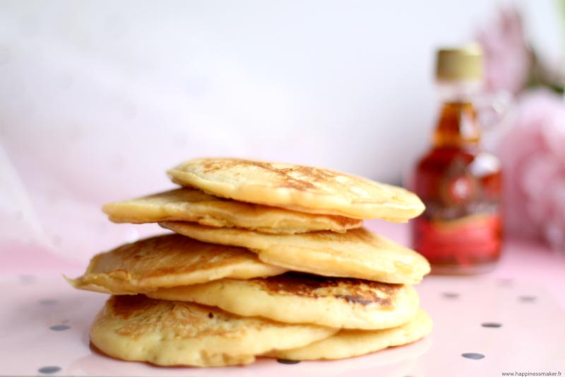 Recette de pancakes faciles lait d'amande