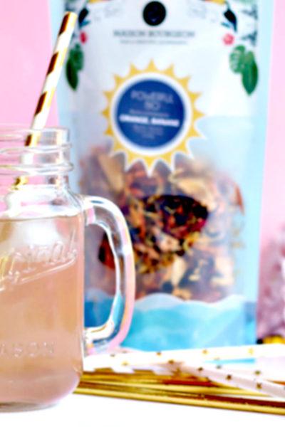 Un thé glacé à l'orange pour l'été !