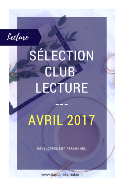 Club Lecture avril