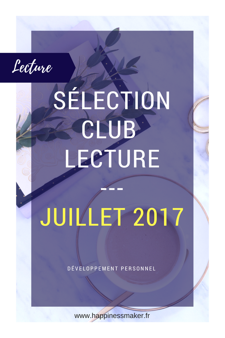 Club Lecture Juillet