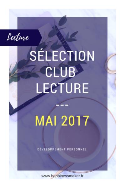 Club lecture de mai