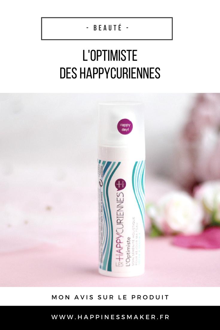 """L'Optimiste des Happycuriennes : Le soin du visage """"bien-être"""" !"""