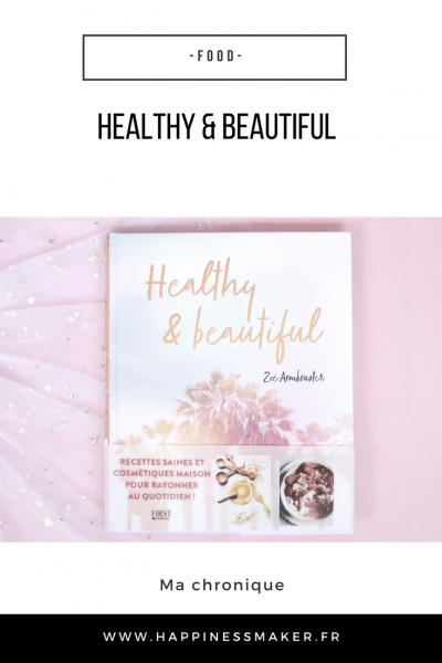 healthy and beautiful avis livre