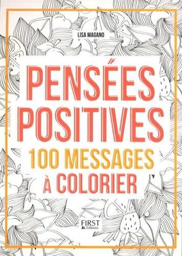 Pensées positives coloriages anti-stress