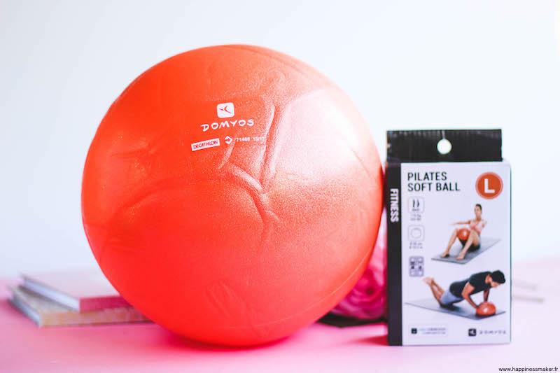 Soft Ball pilates Décathlon