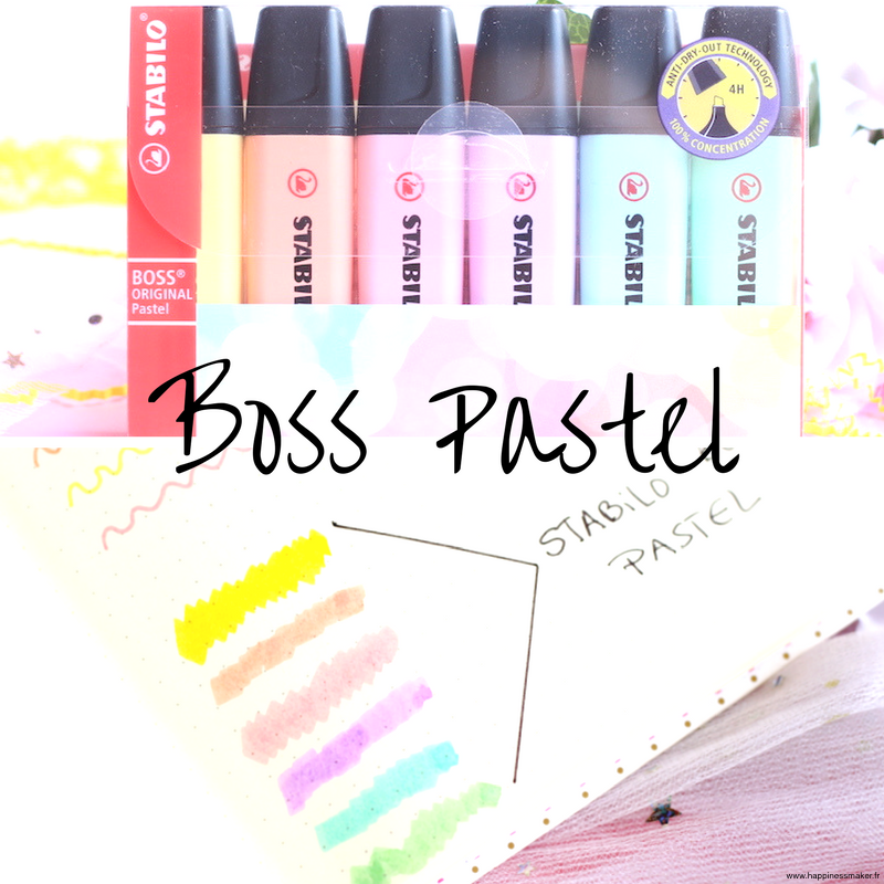 Stabilo boss pastel