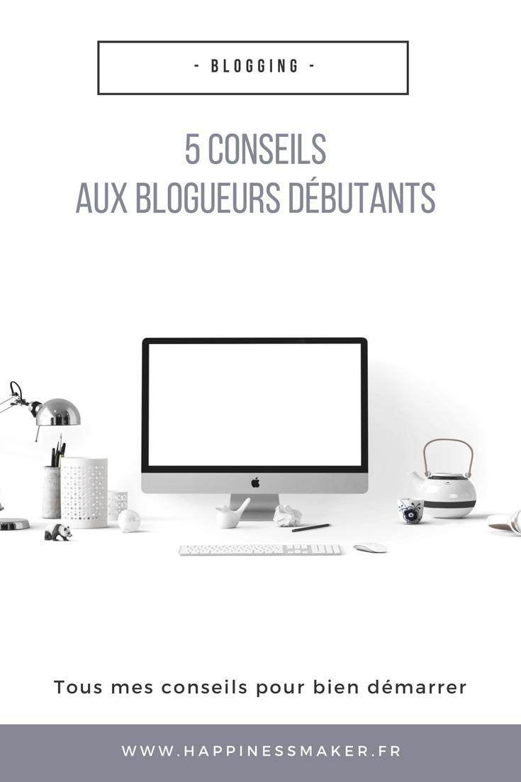 Blog Life // 5 conseils pour (bien) débuter dans le blogging