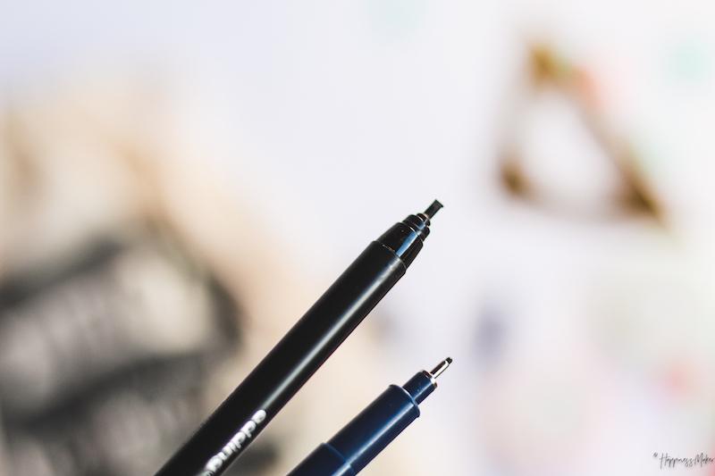 feutres pinceaux edding kit bullet journal quo vadis feutres calligraphie