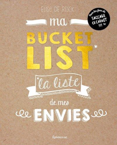 ma bucket list livre doré girly livre développement personnel