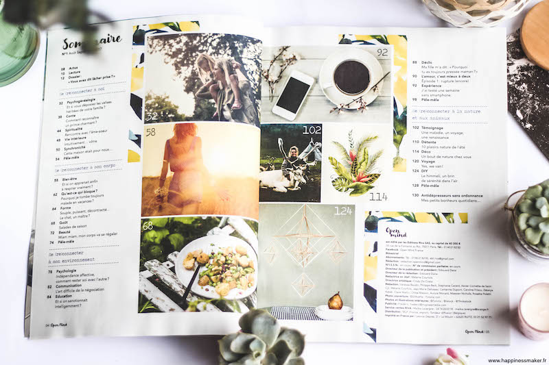 open mind magazine sommaire