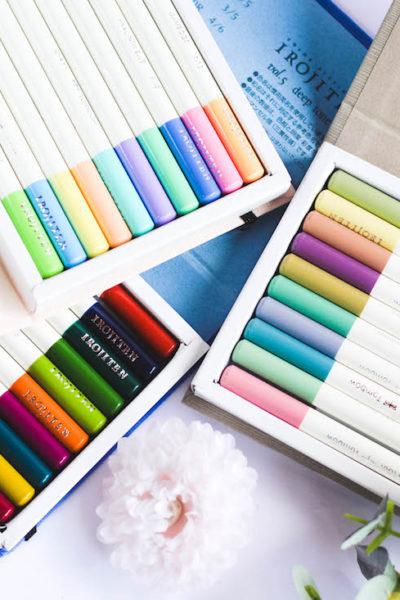 Crayons de couleur Tombow : Un coffret original et performant
