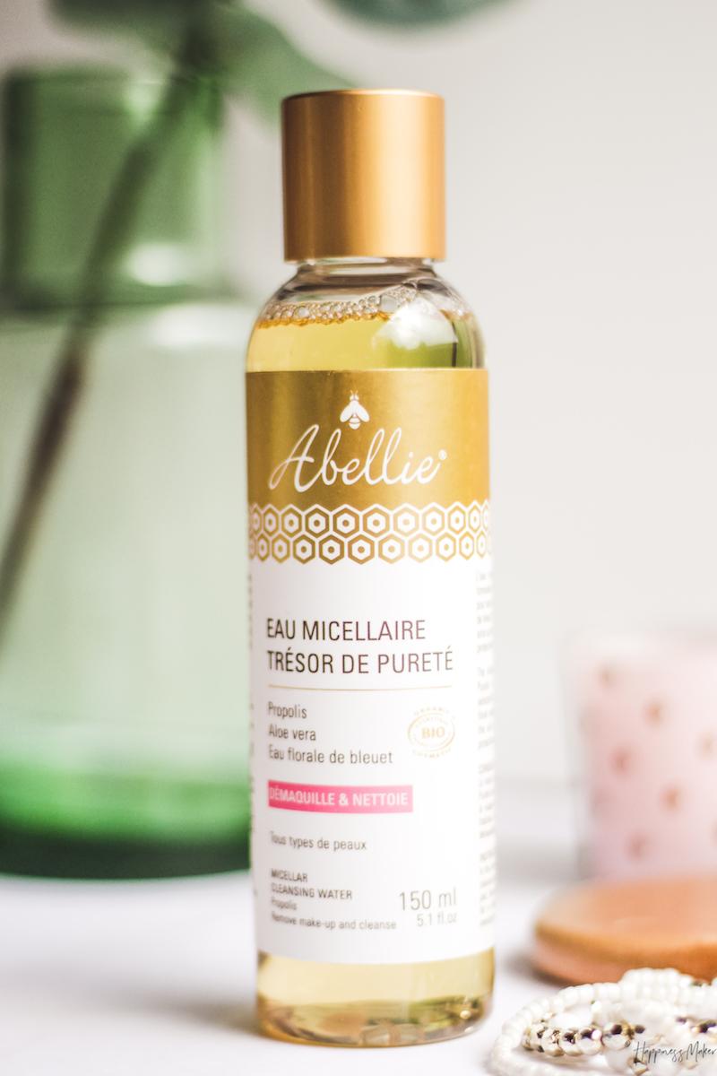 eau micellaire tresor de purete abellie test avis