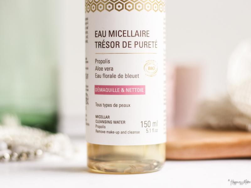 eau micellaire tresor de purete abellie