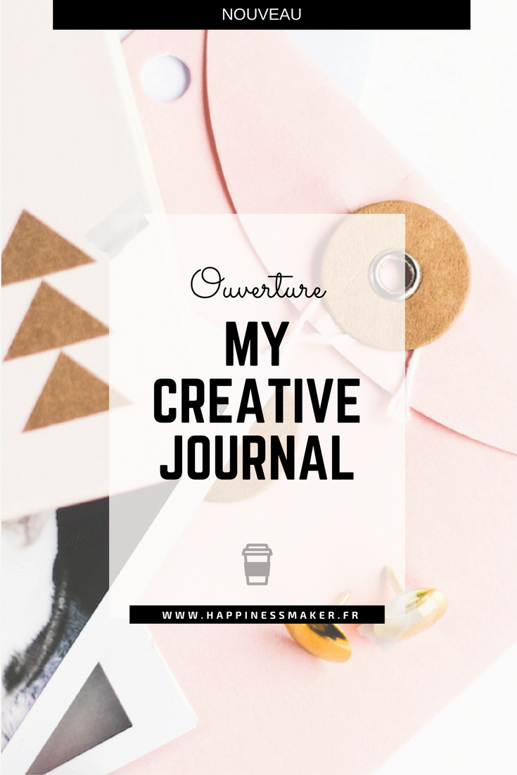 my creative journal blog happiness maker