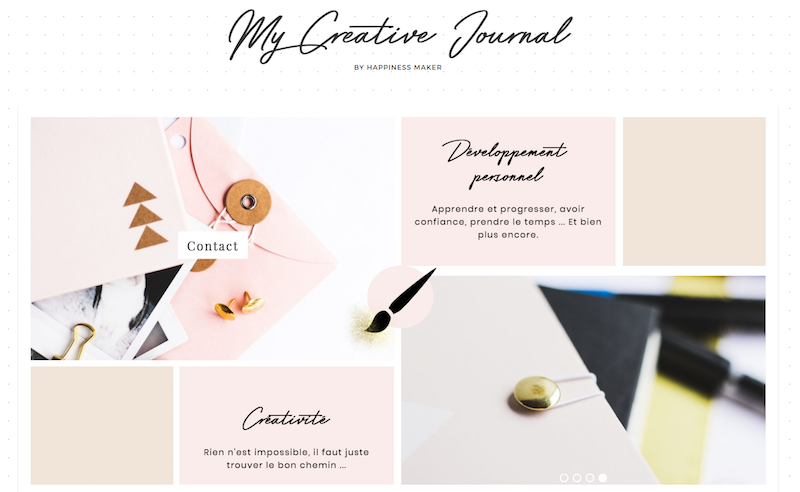 my creative journal happiness maker