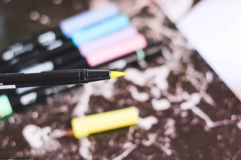 ABTBrush Pen de Tombow bullet journal