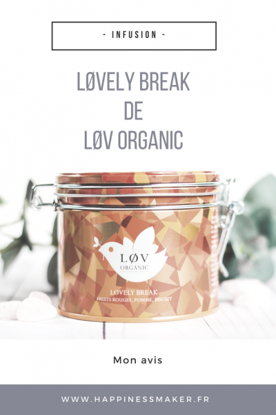 Løvely Break : L'infusion gourmande de Løv Organic