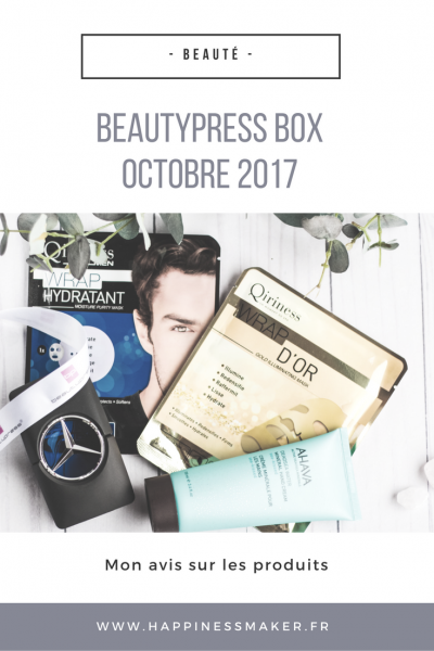 Wrap d'or, parfum Mercedes Benz… Focus sur La BeautyPress box