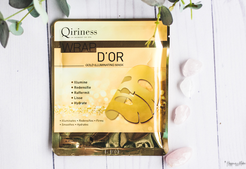 box beauty press masque wrap or qiriness
