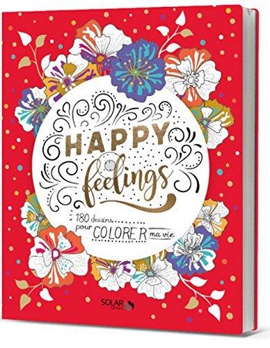 happy feelings livre coloriages solar