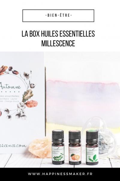 La box huiles essentielles Millescence