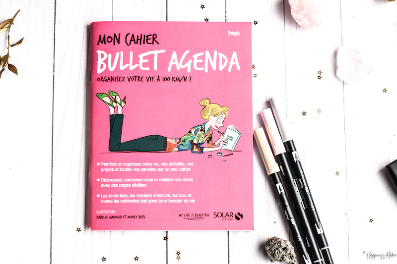 mon cahier bullet agenda carnet dots