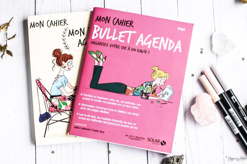mon cahier bullet agenda carnet solar