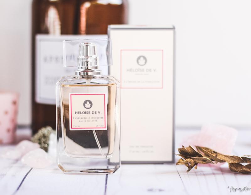 parfum Heloïse de V à l'heure de la cueillette